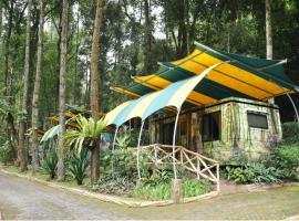 Taman Safari Lodge, hotel with jacuzzis in Puncak