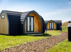 Camping Pods, Golden Sands Holiday Park, glamping site in Dawlish