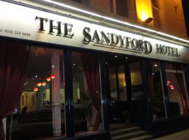 Sandyford Hotel, hotel near The Glasgow Royal Concert Hall, Glasgow