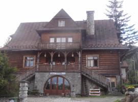 Willa Jaszczurówka 26, hotel in Zakopane