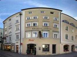 Hotel Krone 1512, hotel v destinácii Salzburg