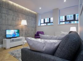 Antilla Luxury Apartments - 10 mins walk to New Street Station, hotel near St Chad's Cathedral, Birmingham