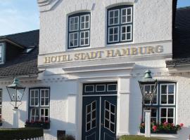 Hotel Stadt Hamburg, Hotel in Westerland
