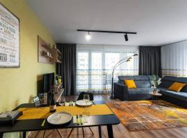 LUXURY AND HARMONIC Apartment with chill TERRACE!, apartman Debrecenben