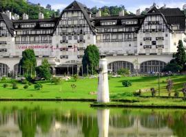 Palácio Quitandinha Espetacular Apartamento com Vista para o Lago, hotel near Weapons Museum, Petrópolis
