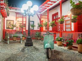 Hotel La Casona, hotel in Jardin