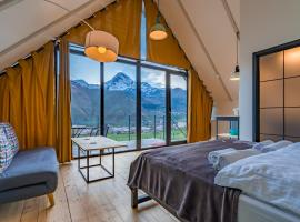 Kazbegi View, hotel in Stepantsminda