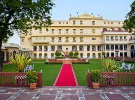 The Raj Palace (Small Luxury Hotels of the World), hotel near Jalmahal, Jaipur