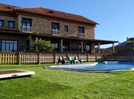 Hotel Rústico Prado da Viña, hotel in Finisterre