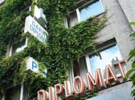 Hotel Diplomat, hotel near Schirn Art Hall Kunsthalle, Frankfurt/Main