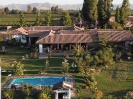 Hotel Vendimia Parador, hotel en Santa Cruz