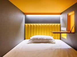 Circular House, capsule hotel in Singapore