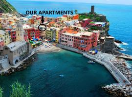 MaDa Charm Apartments Terrace&Carugio, apartment in Vernazza
