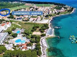 Apartments Aurora near beach, B&B in Medulin