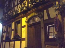 Gästehaus Zum goldenen Schlüssel, hotel near Balduin Bridge, Braubach