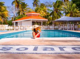 Solare SAI Ecohotel, hotel in San Andrés
