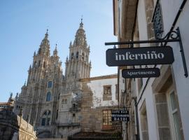 Inferniño Apartments, apartamento en Santiago de Compostela