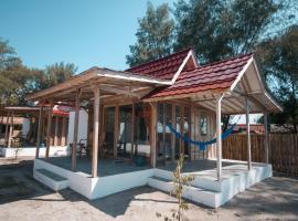 Casa Lumbung, hotel in Gili Meno
