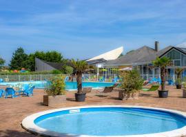 Le Sénéquet, resort village in Blainville-sur-Mer