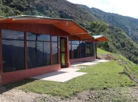 Llactapata Lodge overlooking Machu Picchu - camping - restaurant, lodge in Salcantay