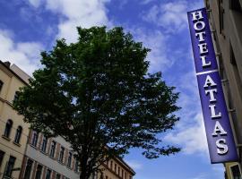 Hotel Atlas Leipzig, отель в Лейпциге