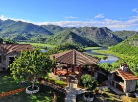Rooms Dujeva Drago-Resort, hotel in Rijeka Crnojevića
