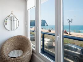 Sea View, accessible hotel in Étretat