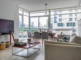 Quartier Atlapa Breathtaking City Center, apartment in Panama City
