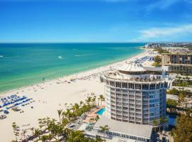 Grand Plaza Beachfront Resort Hotel & Conference Center, hotel in St Pete Beach