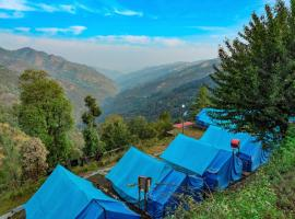 PineHills Nature Camp, campsite in Shimla