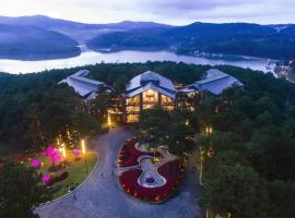 Terracotta Villa Tuyen Lam Lake Dalat, khách sạn có tiện nghi dành cho người khuyết tật ở Đà Lạt