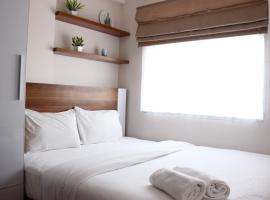 Comfy 2BR Apartment at Grand Asia Afrika Residence By Travelio, apartemen di Bandung