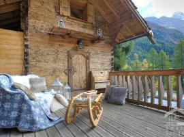 Le Mazot de la Fis, chalet i Chamonix-Mont-Blanc