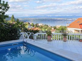 Family friendly apartments with a swimming pool Lovran, Opatija - 14178, hotel with pools in Lovran