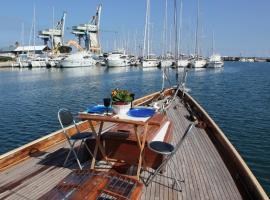 Janabel, boat in Palermo
