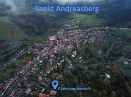 Gästehaus Harzluft / Gruppenferienhaus, Ferienwohnung in Sankt Andreasberg
