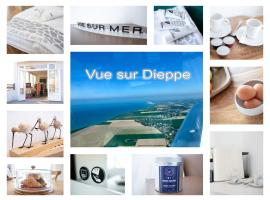 VUE SUR MER Pourville, hotel en Pourville-sur-Mer