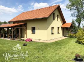 Chata Hluchavka II – hotel w pobliżu miejsca Góry Połabskie w mieście Arnoltice u Decina