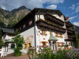 Der Pitztaler Kirchenwirt, Hotel in St. Leonhard im Pitztal
