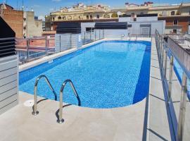 Aparthotel Bcn Montjuic, hotel a Barcellona