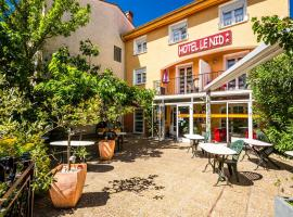 Hôtel le Nid, hotel in Argelès-sur-Mer