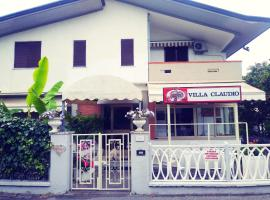 Hotel Villa Claudio, hotel in Marina di Massa
