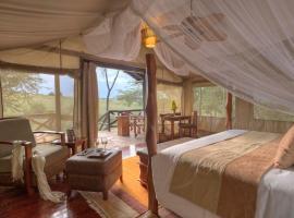 Sarova Mara Game Camp, glamping site in Sekenani