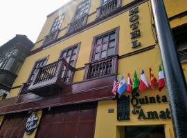 La Quinta de Amat, hotel near Las Nazarenas Church, Lima