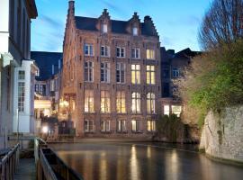 Hotel Bourgoensch Hof, hotel in Bruges