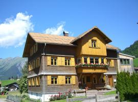 Urlaub bei Moses, hotel in Schoppernau
