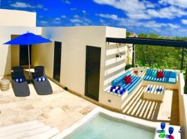 Amazing PH - Private ROOF & Jacuzzi - Grupo Ya'zil, apartment in Tulum
