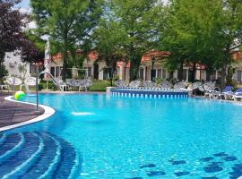 Steaua Apelor Family Resort, hotel with jacuzzis in Nufăru