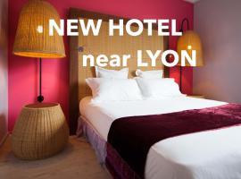 MOODz, hotel near Business Park of the Vallée de l'Ozon, Pont-Évêque
