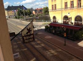 Strand Hotel, hotell nära Kolmårdens djurpark, Norrköping